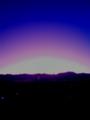 [風景・景観][空][夜明け・朝焼け]2009年11月26日の夜明け