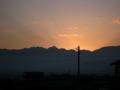 [風景・景観][空][夜明け・朝焼け]2009年11月29日の夜明け