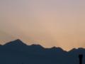 [風景・景観][空][夜明け・朝焼け]2009年12月2日の朝焼け