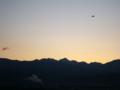 [風景・景観][空][夜明け・朝焼け]2009年12月23日の夜明け