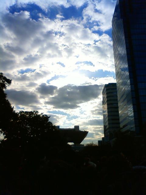 2009年12月29日の夜明け