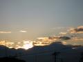 [風景・景観][空][夜明け・朝焼け]2010年1月6日の夜明け