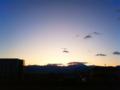 [風景・景観][空][夜明け・朝焼け]2010年1月9日の夜明け