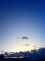 [風景・景観][空][夜明け・朝焼け]2010年2月3日の夜明け