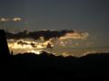 [風景・景観][空][夜明け・朝焼け]2010年2月5日の夜明け