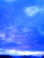 [空][雲][夜明け・朝焼け]2010年2月10日の夜明け