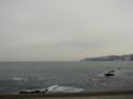 [風景・景観][空][海]冬の日本海