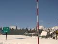[風景・景観][空][雪]上信越自動車道・妙高SA
