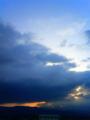 [はてなハイク][空][雲][夜明け・朝焼け]2010年3月13日の夜明け