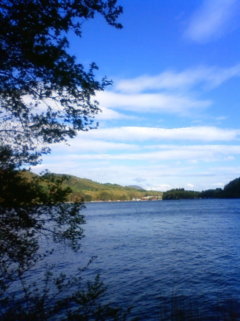長野県・木崎湖