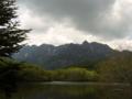 [風景・景観][山][湖][空]戸隠山・鏡池