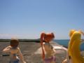 [フィギュア][WAVE][リリカルなのは][*Season02:夏]BEACH QUEENS はやて&なのは&フェイト カットNo.004