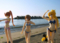BEACH QUEENS はやて&なのは&フェイト カットNo.002