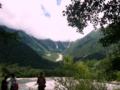 [風景・景観][山][河川]穂高連峰・梓川