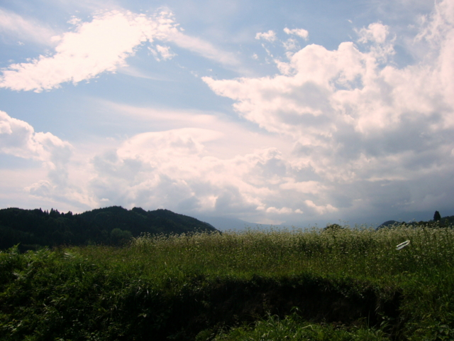 [風景・景観][雲][空]