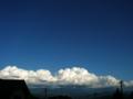 [空][雲]夏の終わりの