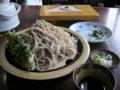 [蕎麦][食事][料理・食品・飲料]長野県大町市 そば処・美郷 大ざる