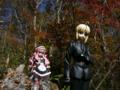 [フィギュア][*Season03:秋][ALTER][MAXFACTORY][ゼロの使い魔][Fate/Zero]ルイズ ゴスパンクVer.&セイバー カットNo.002