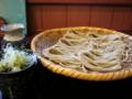 [蕎麦][食事][料理・食品・飲料]本日のお蕎麦 戸隠奥社前食堂なおすけ 特盛りそば