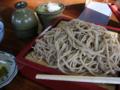 [蕎麦][食事][料理・食品・飲料]長野県大町市 麻の館 ざるそば大盛り