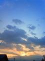 [空][はてなハイク][夜明け・朝焼け]夜明部