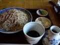 [蕎麦][料理・食品・飲料][食事]長野県上高井郡小布施町・桜井甘精堂のせいろ