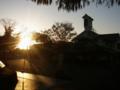 [風景・景観][夕焼け]小布施町の夕暮れ