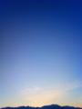 [風景・景観][空][夜明け・朝焼け]夜明部