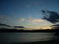 [風景・景観][海][夕焼け]宮城県東松島市 奥松島からの夕景