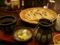 [蕎麦][料理・食品・飲料][食事]長野県長野市戸隠 仁王門屋の大ざるそば