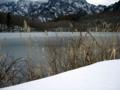 [風景・景観][雪]戸隠高原・鏡池にて