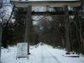 [風景・景観][雪][史跡・名勝][神社・仏閣]戸隠神社・奥社にて