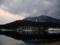霊仙寺湖と飯綱山