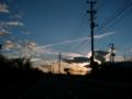 [風景・景観][海][夕焼け]宮城県石巻市にて