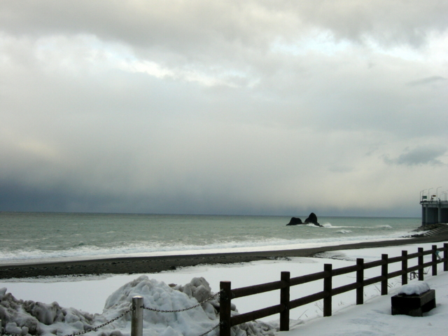 [風景・景観][雪][海]