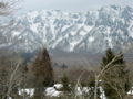 [風景・景観][雪]長野県長野市・戸隠高原
