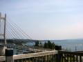 [風景・景観][海]ツインブリッジのと(石川県七尾市)