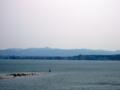 [風景・景観][海]ツインブリッジのとから和倉温泉を望む(石川県七尾市)