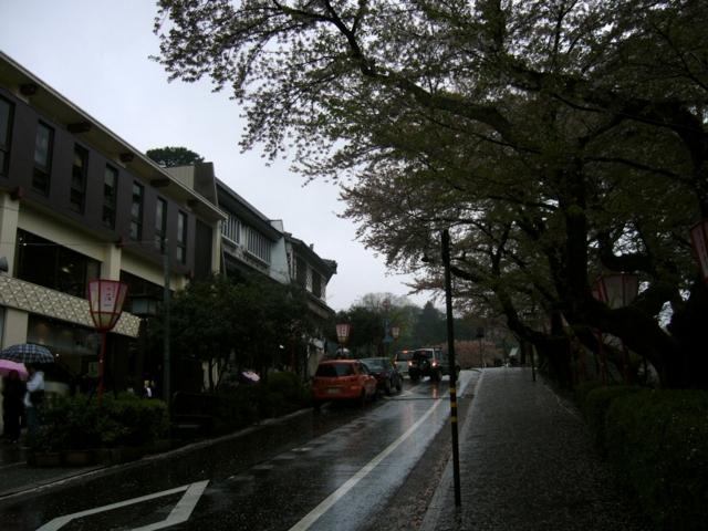 兼六園への道(石川県金沢市)