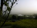[風景・景観][空][河川]菜の花公園から(長野県飯山市)