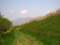 千曲川河川敷(長野県小布施町)