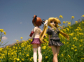 [フィギュア][コトブキヤ][リリカルなのは][*Season01:春]高町なのは&フェイト・テスタロッサ カットNo.014