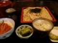 [食事][蕎麦]そば処・安留賀さんのあずみのセット(長野県安曇野市)
