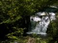 [風景・景観][森林][滝]もみじの滝(八千穂高原自然園にて)