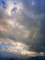 [はてなハイク][空][雲]黄昏部