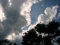 [風景・景観][空][雲]諏訪湖畔にて