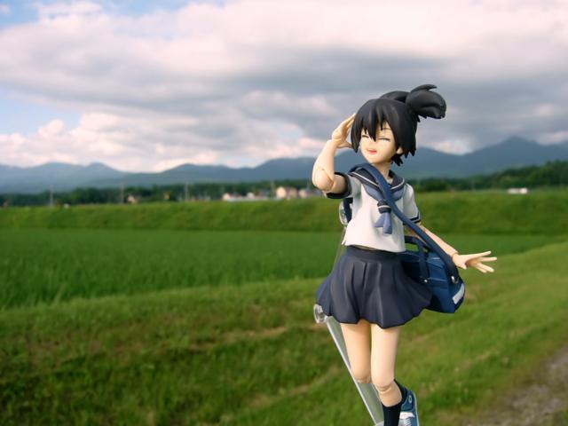 figma ブラック★ロックシューター 黒衣マト カットNo.013