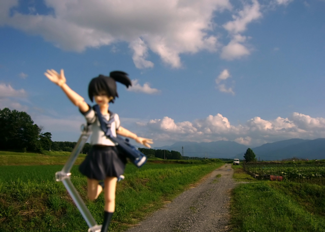 figma ブラック★ロックシューター 黒衣マト カットNo.002