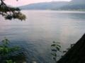 [風景・景観][湖]木崎湖畔(長野県大町市)