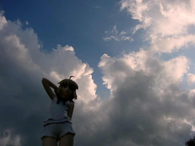 Fate/stay night 魔法使いの夏休み セイバー -Summer Ver.- カットNo.004